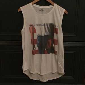 Cotton On Bruce Springsteen Tank Size M